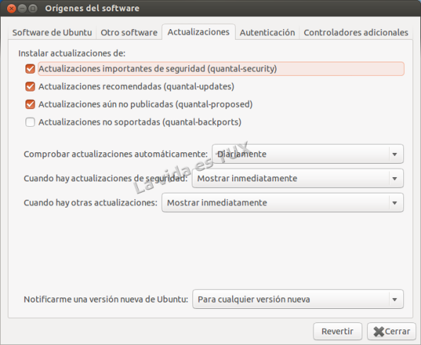 Orígenes del software: Actualizaciones